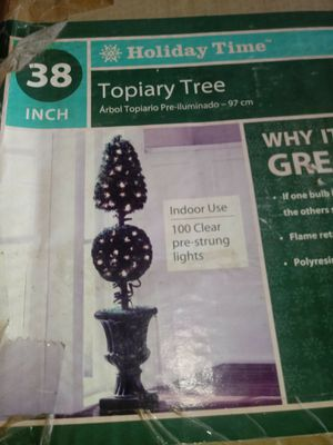Holiday Topiary Tree for Sale in Maricopa, AZ