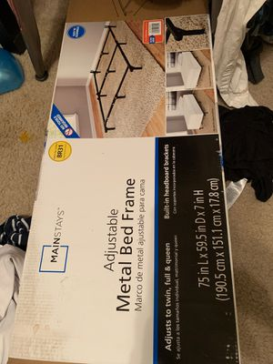 BRAND NEW BED FRAME IN BOX for Sale in Anna, TX