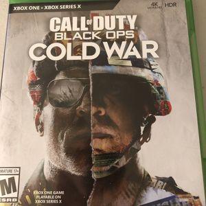 COD Black Ops Cold War Xbox $35 FIRM MUST PICKUP IMMEDIATELY!!! for Sale in Farmington Hills, MI