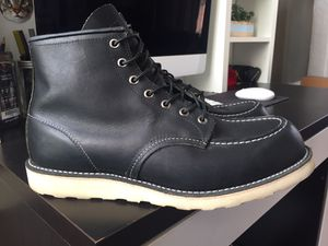 RED WING 9075 BOOTS MEN'S SIZE 12 BLACK for Sale in San Francisco, CA