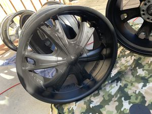 """20"""" Rims /black for Sale in Richmond, VA"""