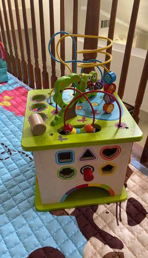 Kids activity wood toy for Sale in Rancho Cucamonga, CA