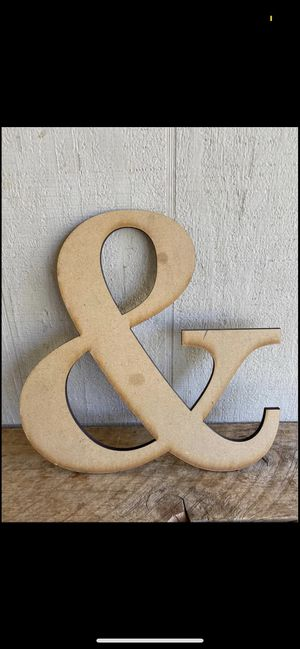 """Ampersand """"&"""" Sign for Sale in Clovis, CA"""