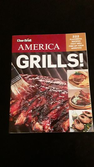 Grilling Cook Book for Sale in Dinuba, CA