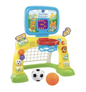 VTech Smart Shots Sports Center Toy Basketball Hoop comes with 2 balls for Sale in SUNNY ISL BCH, FL