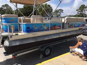 2008 pontoon boat for Sale in Newnan, GA