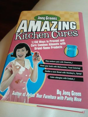 Amazing Kitchen Cures BOOK for Sale in Coral Gables, FL