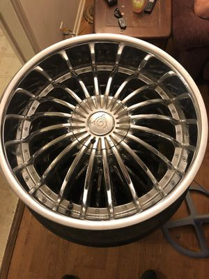 22 inch rims for Sale in Trinity, NC