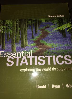 Essential Statistics Second Edition for Sale in Los Angeles, CA