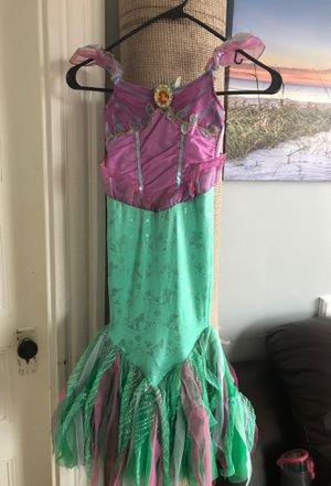 Girls little mermaid Ariel dress up 4 for Sale in Boston, MA