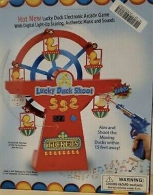 Bundaloo Duck Shooting Target Game Electronic Arcade game for Kids and Adults for Sale in Mechanicsburg, PA