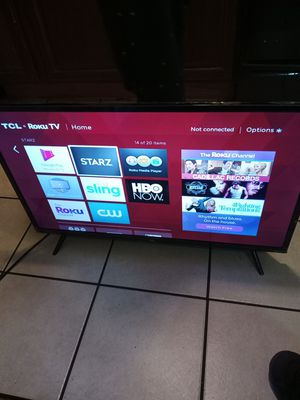 "TCL 32"" CLASS 3-SERIES HD LED ROKU SMART TV - 32S321 for Sale in Washington, DC"