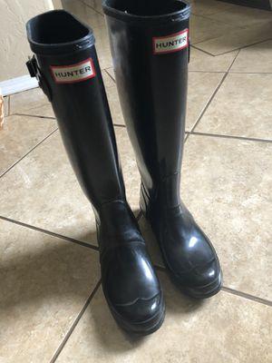 Hunter rain boots for Sale in Burleson, TX