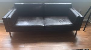 Leather Brown Sofa for Sale in Arlington, VA