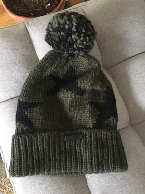 Coach Green Star Pom Pom Beanie (retired) for Sale in Red Bluff, CA