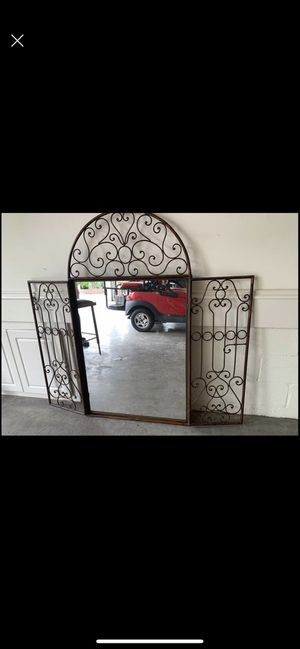 Z Gallery iron gate mirror for Sale in Brentwood, TN
