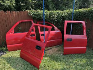 Silverado crew cab doors parts for Sale in Dallas, TX