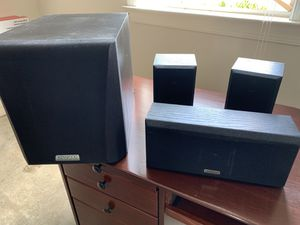 Kenwood Powered Sub and speakers for Sale in Murfreesboro, TN