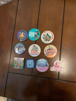 Disney - Button/Pins - Bag #12 for Sale in Davenport, FL