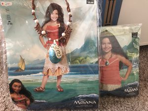 Disney Moana costume set for Sale in Gunter, TX