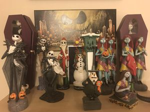 Nightmare before Christmas statue figures for Sale in Pflugerville, TX