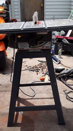 Sears Craftsman table saw for Sale in Wichita,  KS