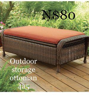 Brand new new outdoor storage ottoman (new in box) for Sale in Dallas, TX