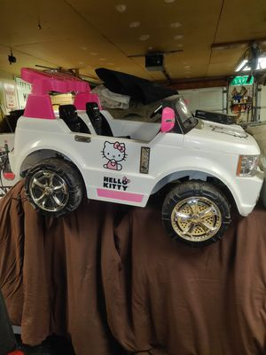Hello Kitty power wheels for Sale in Clarence, NY