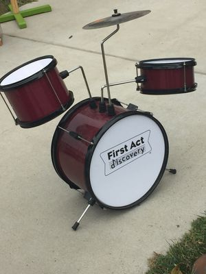 Used kids drum set for Sale in Frederick, MD
