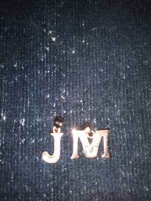 J and m 18k. White gold charms for Sale in West Somerville, MA