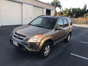 2002 Honda CRV EX for Sale in San Diego, CA