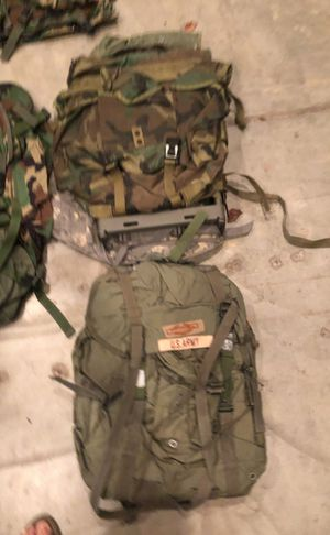 Military packs, hiking/camping/ hunting for Sale in Clovis, CA
