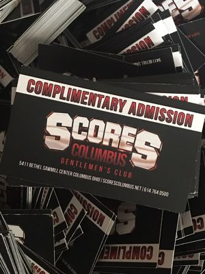 Scores. Passes for Sale in Westerville, OH