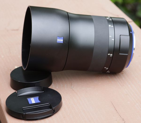 Carl Zeiss Milvus135mm f/2 for Canon