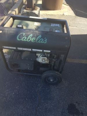 Cabelas 11225 watts genarator for Sale in Columbus, OH