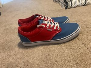 Vans, size 12, perfect shape, worn once for Sale in Colorado Springs, CO