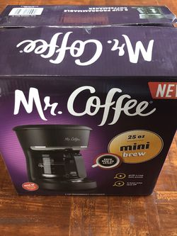 Mr. Coffee 25oz Mini Brew - Used Once for Sale in Los Angeles,  CA