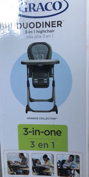 GRACO DUODiner 3-in-1 Highchair for Sale in Chesterfield, MO
