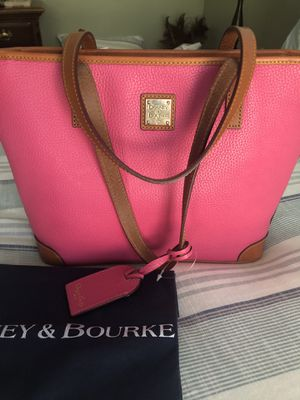 Dooney & Burke Hot Pink Charleston Shopper for Sale in San Diego, CA