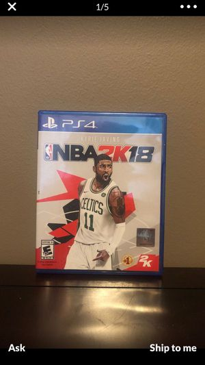 NBA 2K18 for Sale in Bloomington, IL