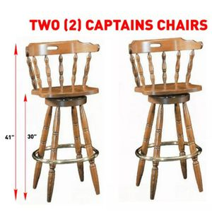 Captains Chairs Vintage Bar Stools for Sale in Newport Beach, CA