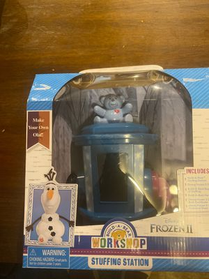Disney Frozen II stuffing station build a bear Olaf for Sale in Cleveland, OH
