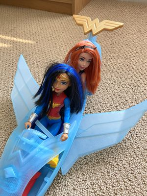 Wonder Woman and invisible plane for Sale in Laveen Village, AZ