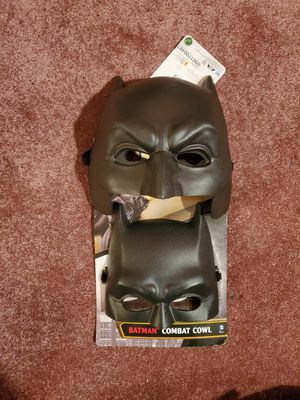 Batman's masks.adult and kid .combo for Sale in Minneapolis, MN