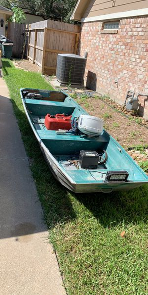 Jon boat for Sale in Houston, TX
