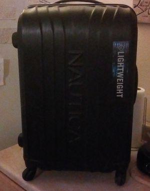 Nautica hardcase rolling suitcase for Sale in Chico, CA