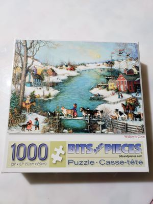 1000 piece puzzles for Sale in Channahon, IL