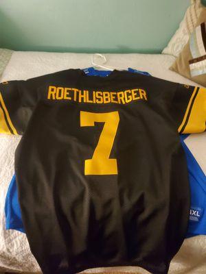 Ben roethlisberger Pittsburgh Steelers Jersey for Sale in Carrollton, TX