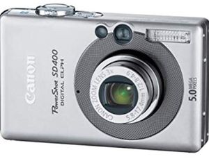 Canon PowerShot SD400 Digital Elph Camera/Recorder for Sale in Hollywood, SC