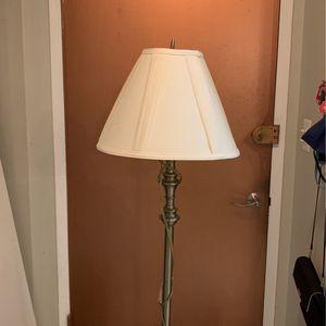 Golden/bronze Floor Lamp for Sale in Washington, DC